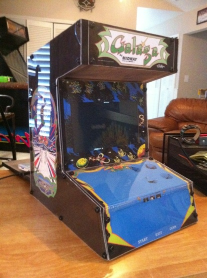 Mini MAME Cab from Netbook |