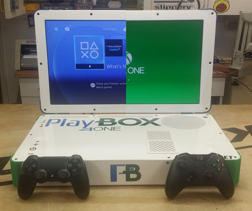 PLAYBOX – PS4 / XBOX ONE COMBO Laptop