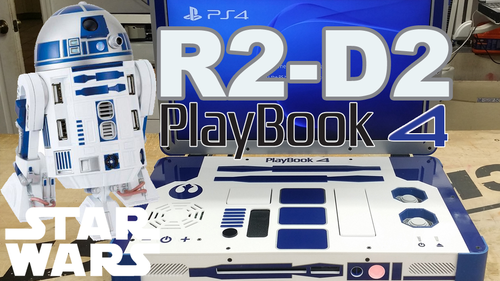 R2-D2 Themed Star Wars PlayBook 4